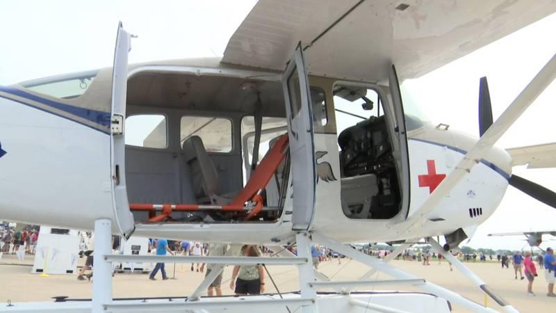 Humanitarian plane at EAA AirVenture
