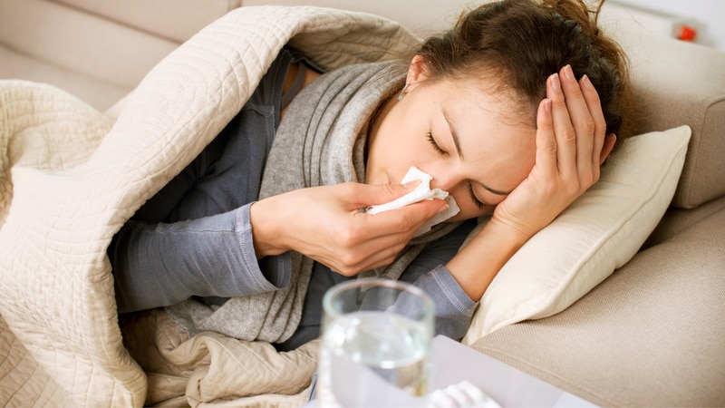 Because the symptoms are so similar, a flu or COVID-19 test is needed to help confirm a...