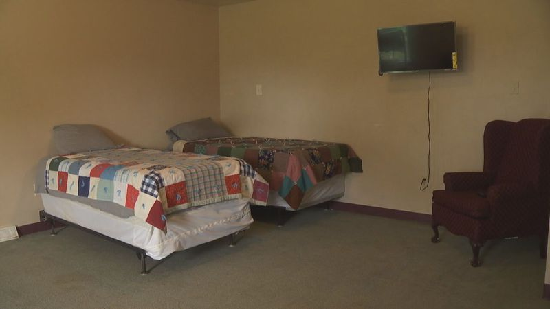Rooms in the shelter at Golden House have been nearly full all year.