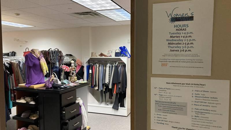 YWCA women's closet
