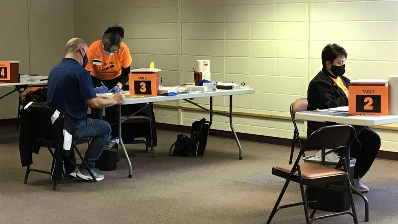 The Shawano County Health Department holds its first vaccination clinic, focusing on teachers...