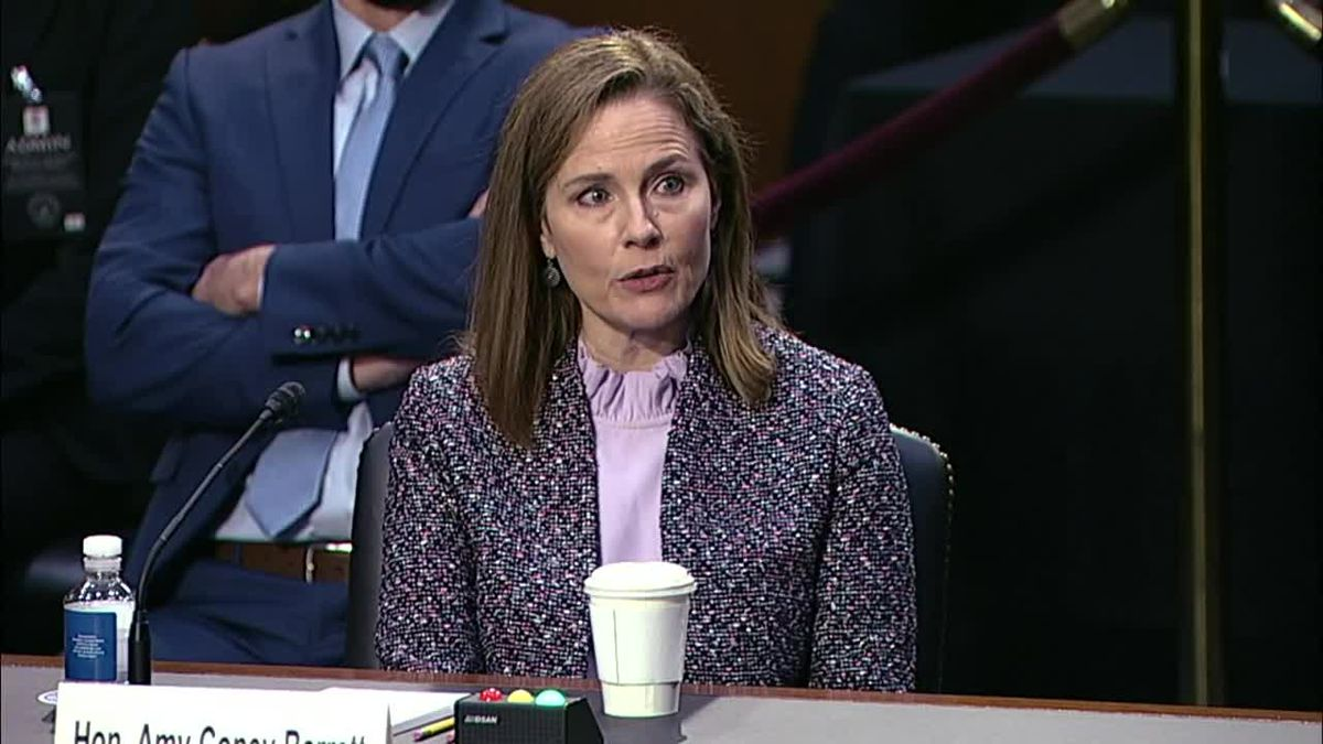 Amy Coney Barrett followed tradition set by prior Supreme Court nominees by not discussing her views on cases that could come before the court.