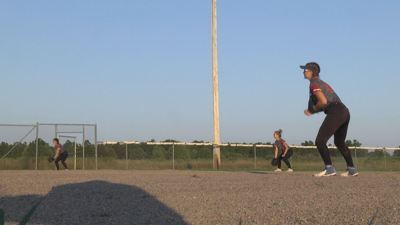 Most area high school softball players haven't hit the field in over a year with the spring...