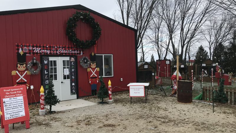 The popular Kaukauna North Pole display has moved to rural Calumet County with new displays and...