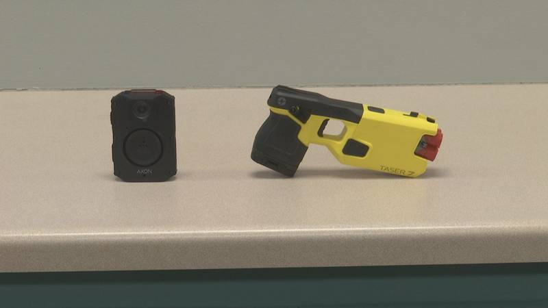 New body cameras and tasers arrive at Ashwaubenon Public Safety Dept.