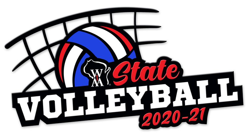 The WIAA has released the re-seeded girl's volleyball brackets for the alternate fall state...