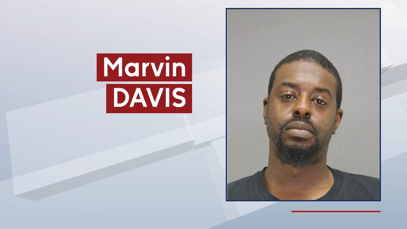 Marvin Davis was arrested April 10, 2021, for attempted homicide