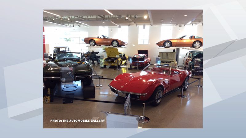 Bart Starr Corvettes featured in this file photo from The Automobile Gallery