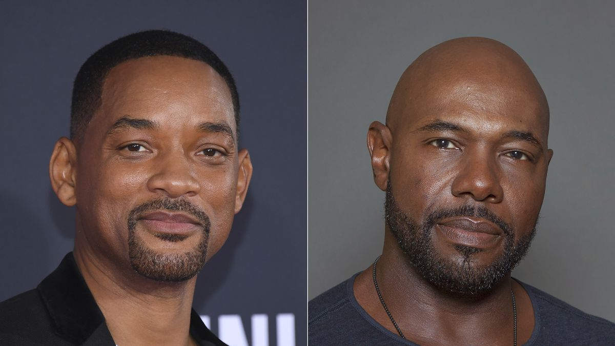 """Will Smith attends the premiere of """"Gemini Man"""" in Los Angeles on Oct. 6, 2019, left, and..."""