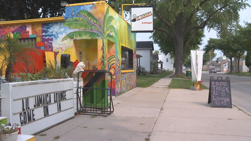 Lil Jamaica offers a great atmosphere and outdoor dining on Broadway Street in Green Bay