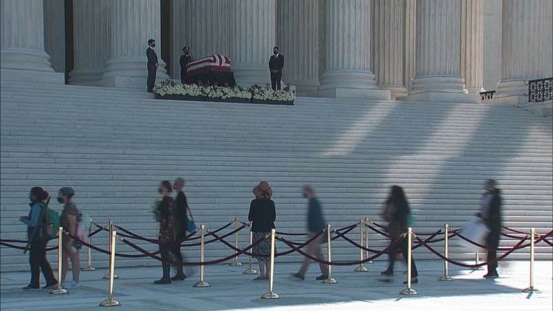 Wednesday, the country began officially saying 'good-bye' to Associate Supreme Court Justice...