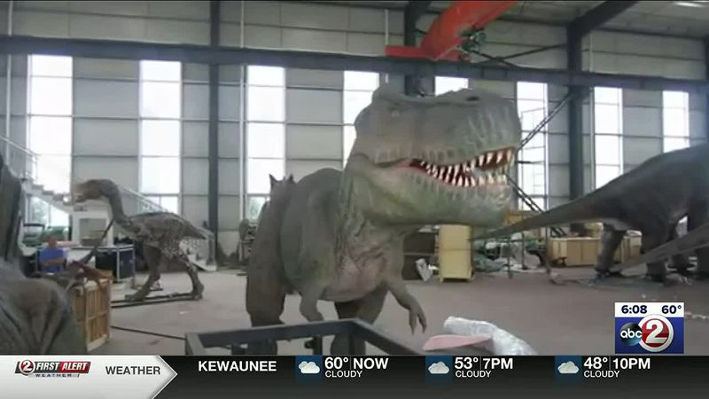 Traveling dinosaur exhibit to stop at Resch Expo
