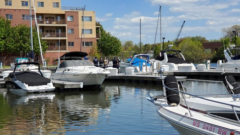 Menasha police recovered a man's body from the Fox River Canal near the marina on May 13, 2021