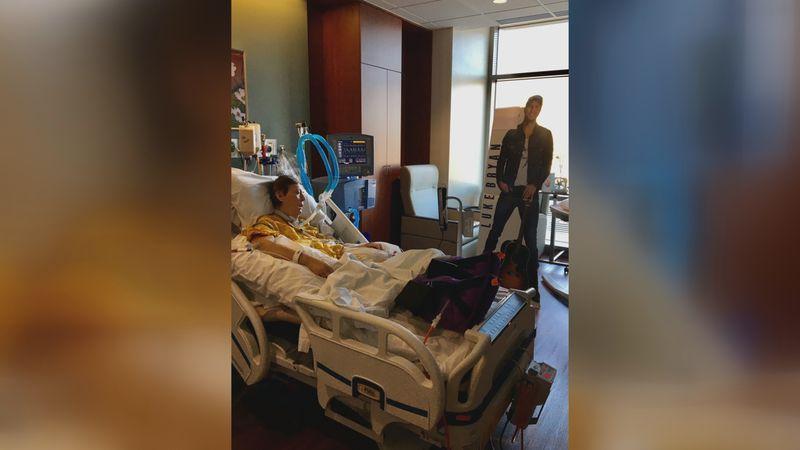 Nancy Van Dyn Hoven, 60, is currently at St. Elizabeth Hospital in Appleton battling Covid-19.