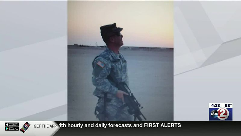 Sgt. Mark Meunier on tour of duty in Iraq (photo provided)
