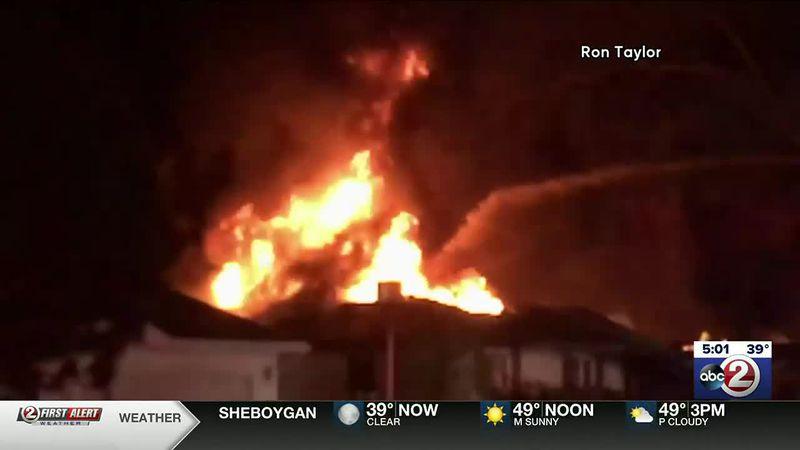 Appleton Mayfair house fire