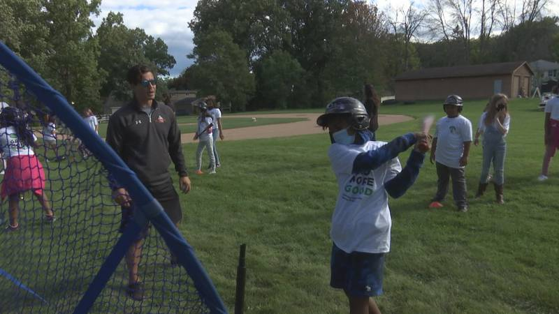 Boys and Girls Club of Greater Green Bay received a new baseball field thanks to grant from...