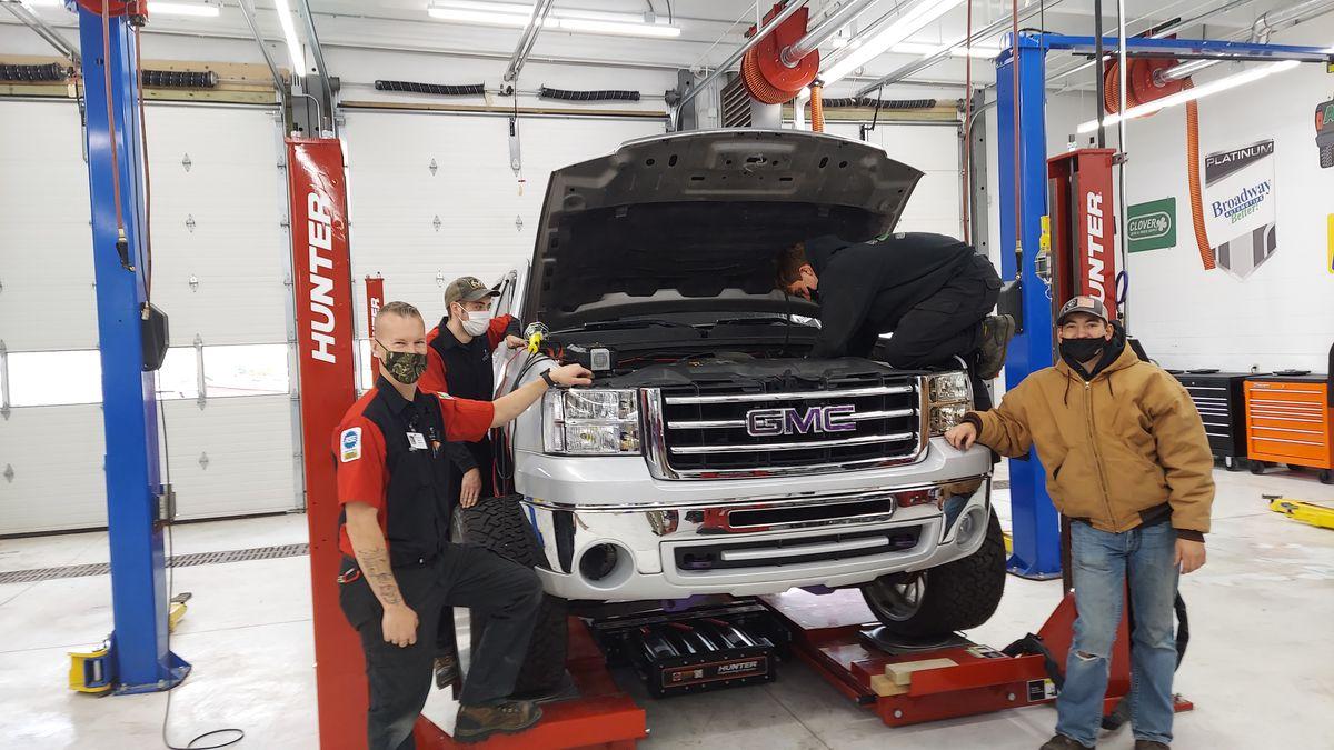 Luxemburg-Casco and NWTC partner for auto program