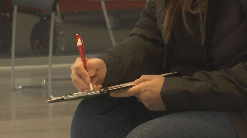 A blood drive was hosted by the Community Blood Center in Appleton amid a pandemic, which has...