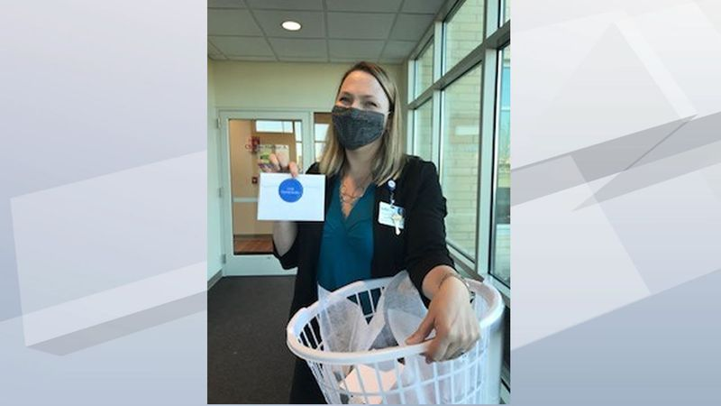 Members of a Peshtigo church are delivering goodie baskets to say thank you to health care...