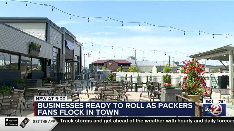 Bars and restaurants around Lambeau Field are ready for football fans