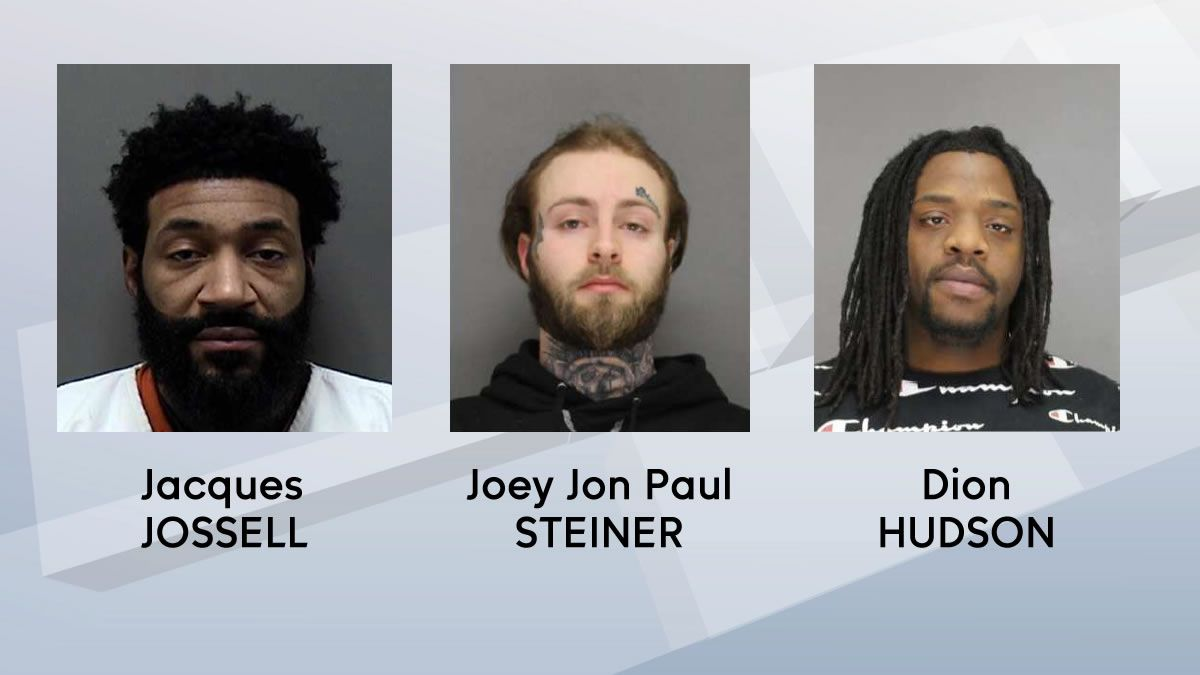 Three men identified by law enforcement after violence or looting following protests on May 31 are not in custody at the time of this writing