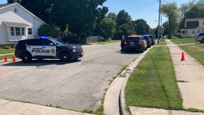 Green Bay Police on the scene of an incident on the 1400 block of S. Oakland Avenue