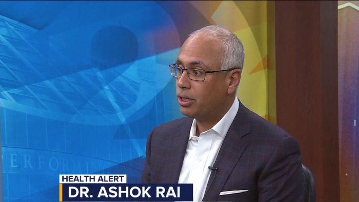 Prevea Health CEO Dr. Ashok Rai discusses social distancing amid coronavirus pandemic. March 12, 2020. (WBAY)
