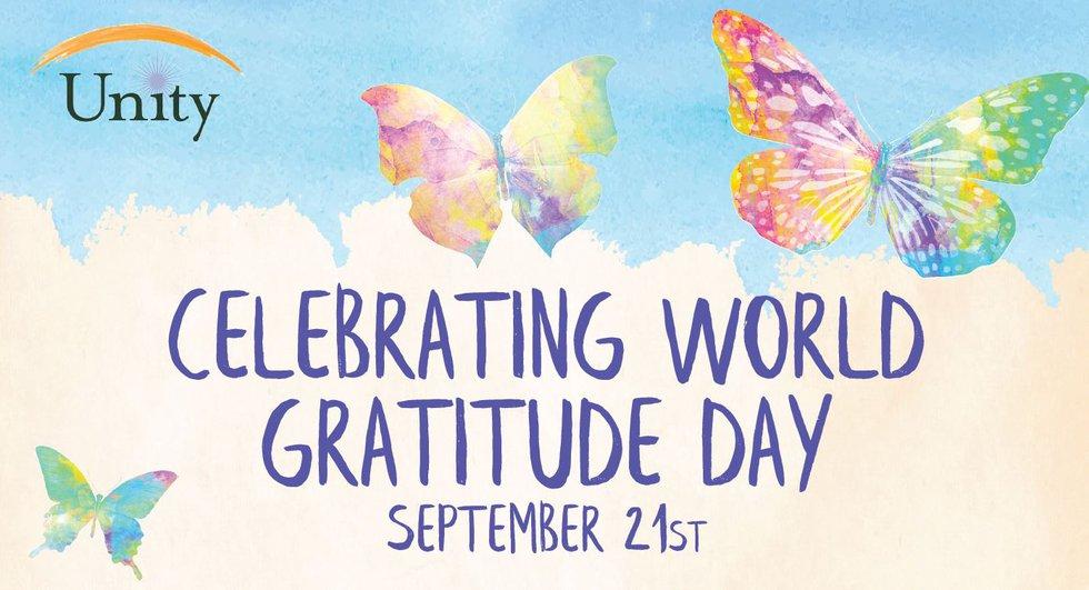 Celebrating World Gratitude Day on September 21st, 2021