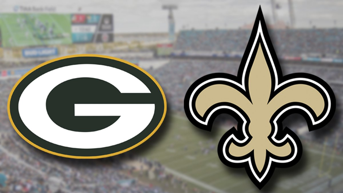 The Green Bay Packers game against the New Orleans Saints has been moved to Jacksonville.