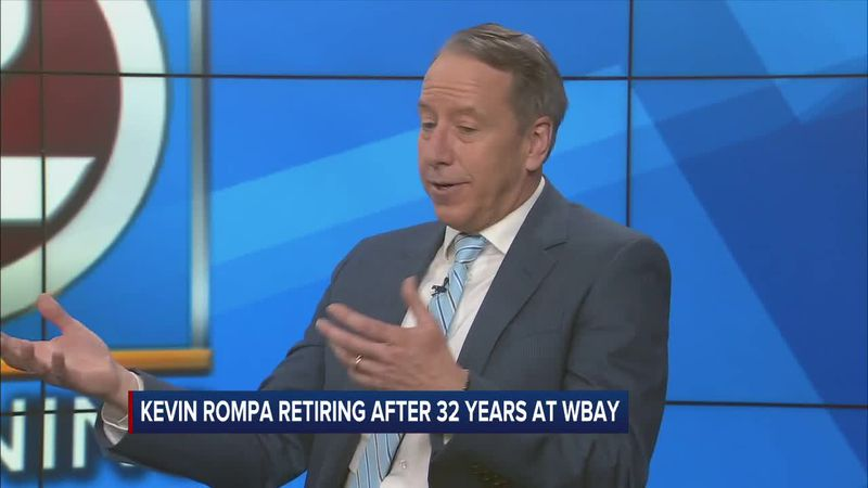 Kevin Rompa, who has been with WBAY for decades, announced his upcoming retirement last...