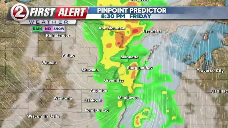 First Alert Weather Pinpoint Predictor