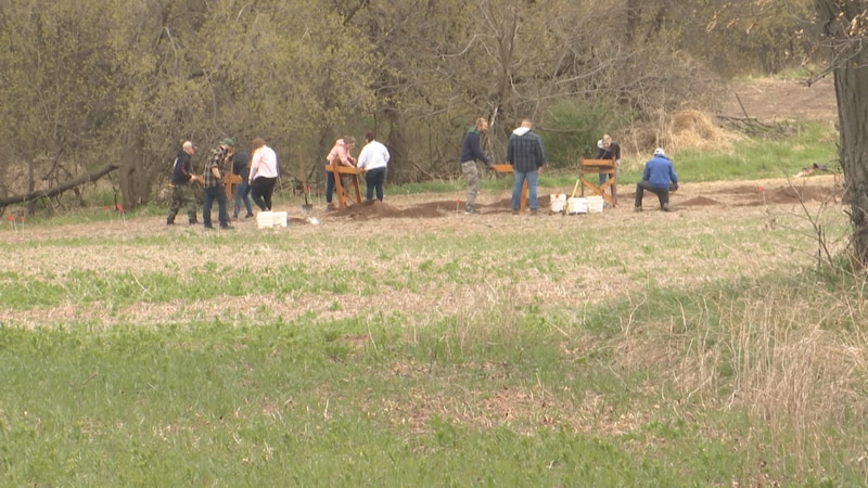 UWO Anthropology class assisting in search for Starkie Swenson's remains.
