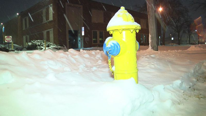 Green Bay city leaders are asking people to keep fire hydrants and storm sewers clear of snow...