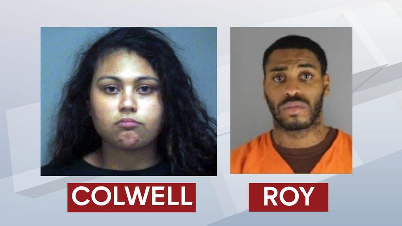 Neenah murder suspects Terran Colwell and Mandel Roy