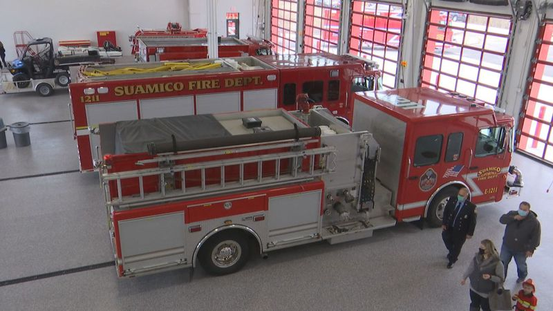 Private opening to view the $6 million dollar fire facility