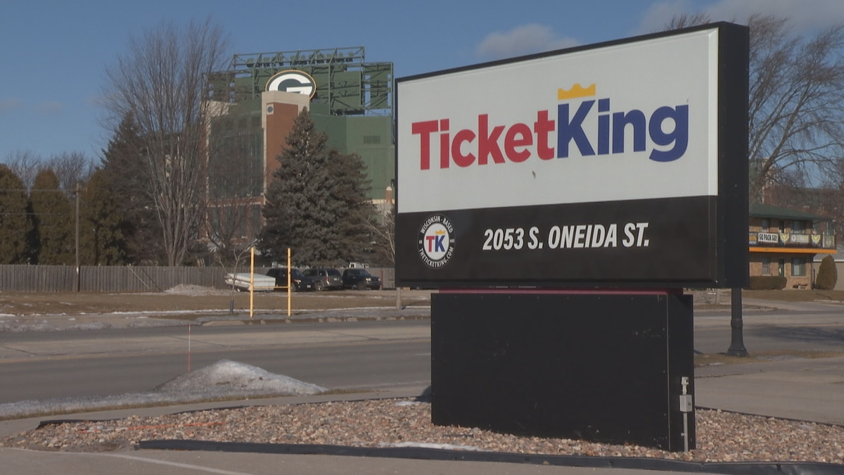 Ticket King won't be selling any tickets ahead of the NFC Championship game at Lambeau Field